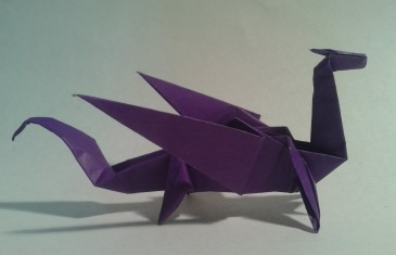 Origami – Como hacer de forma sencilla un dragón de orrigami