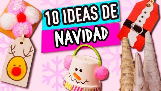 Ideas muy fáciles para realizar manualidades de navidad para niños.