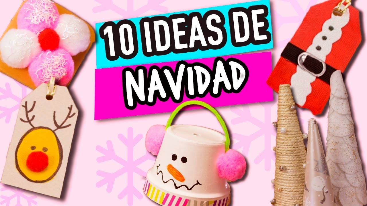Ideas muy f ciles para realizar manualidades de navidad - Manualidades faciles navidad ...