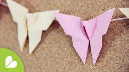 Mariposas decorativas muy fáciles de hacer paso a paso.