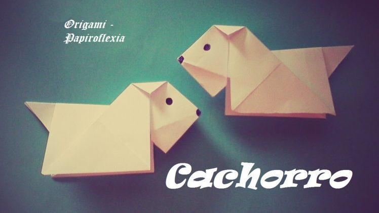 Cachorritos de papel muy fácil y rápido para hacer por niños.